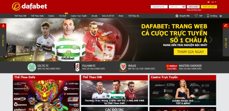 đăng ký tài khoản bóng đá tại dafabet